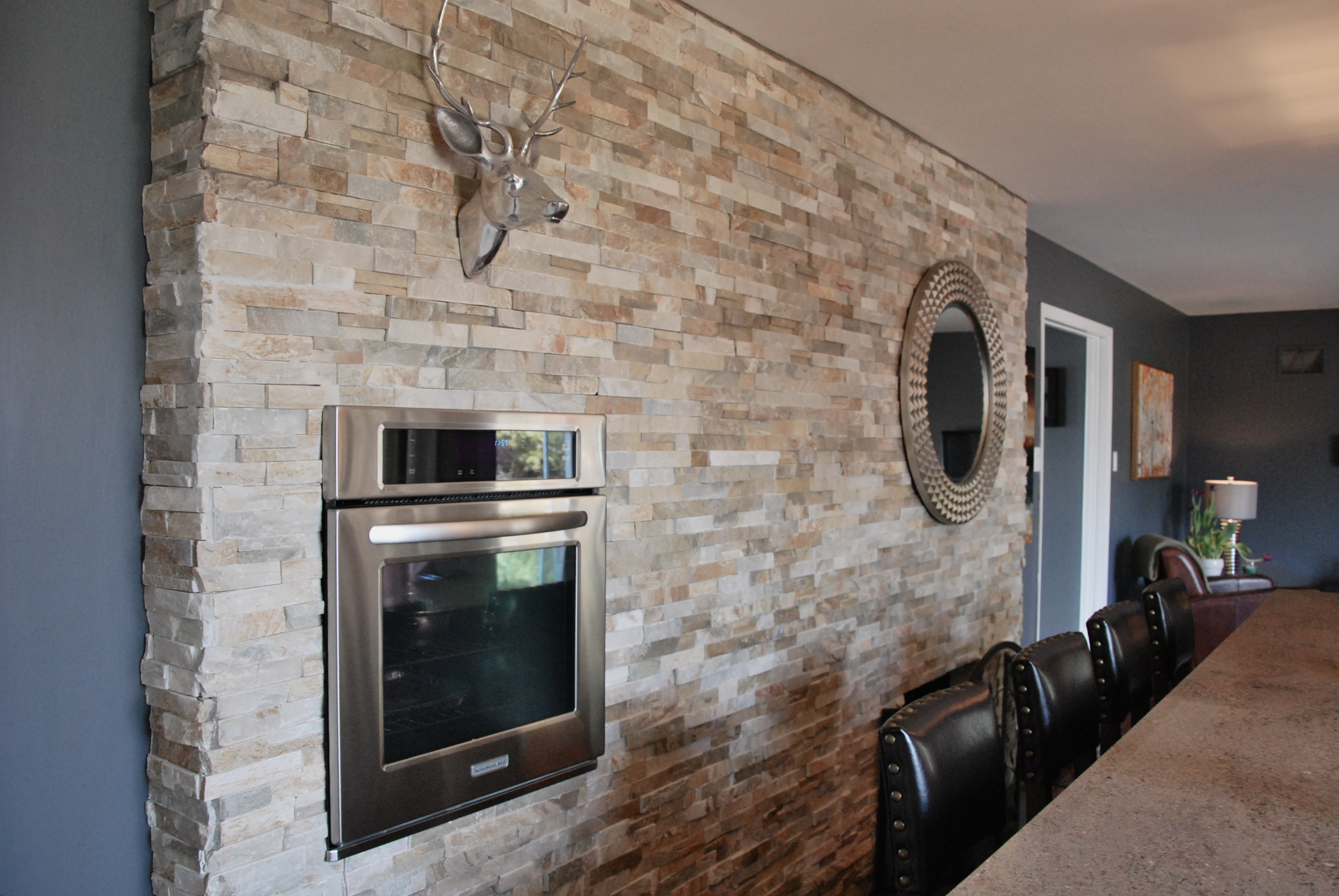 Kitchen Feature Wall Dc Renos Design Consult